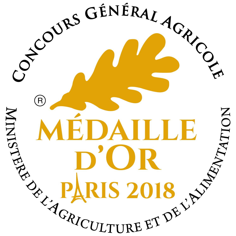 """Résultat de recherche d'images pour """"médaille d'or paris 2018"""""""